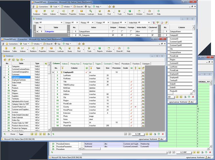 Powerful database management tool.